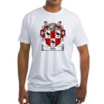 Tate Family Crest Fitted T-Shirt