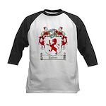 Talbot Family Crest Kids Baseball Jersey