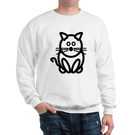 Just The Cat Front and Back Sweatshirt