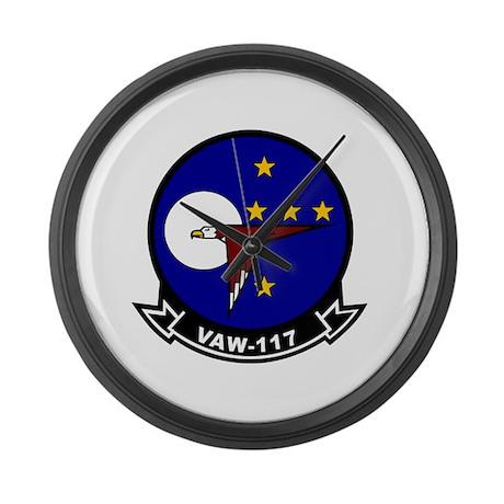 VAW-117 Large Wall Clock