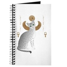 Cute Egyptian cat Journal