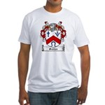Sexton Family Crest Fitted T-Shirt