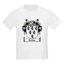 Savage Family Crest Kids T-Shirt