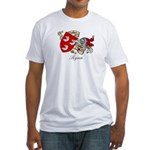 Ryan Family Crest Fitted T-Shirt