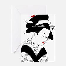 Cute Zen art Greeting Card