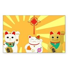 Lucky Cats Decal