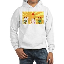 Lucky Cats Hoodie