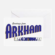 Arkham Greeting Card
