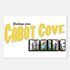 Cabot Cove Postcards (Package of 8)