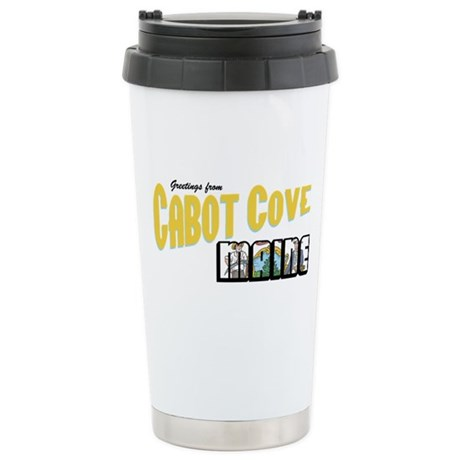 Cabot Cove Stainless Steel Travel Mug