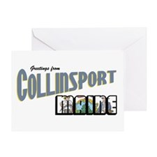 Collinsport Greeting Card