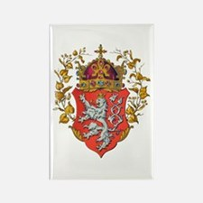 Bohemian King Coat of Arms Rectangle Magnet
