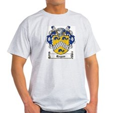 Regan Coat of Arms Ash Grey T-Shirt