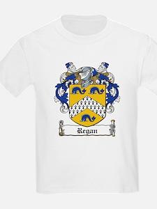 Regan Coat of Arms Kids T-Shirt