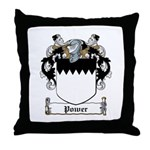 Power Coat of Arms Throw Pillow