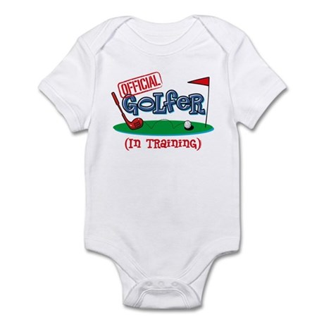 Boy Golfer In Training Infant Bodysuit