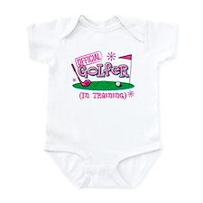 Girl Golfer In Training Infant Bodysuit