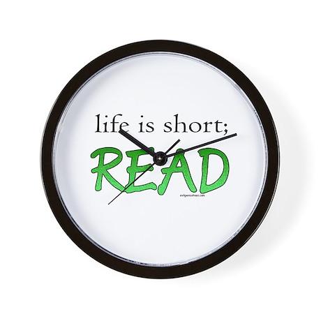 Life is short; read Wall Clock