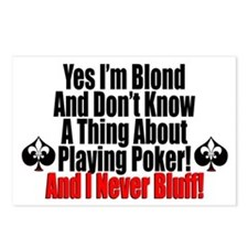 Yes I'm Blond! Postcards (Package of 8)