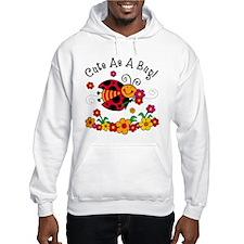 Ladybug Cute As A Bug Hoodie