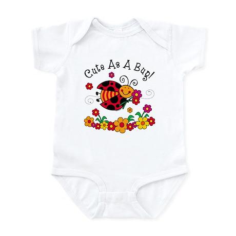 Ladybug Cute As A Bug Infant Bodysuit