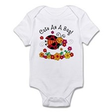 Ladybug Cute As A Bug Infant Bodysuit