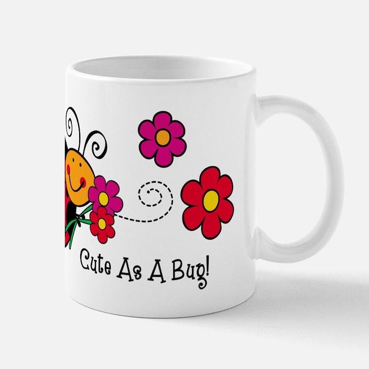 Ladybug Cute As A Bug Mug