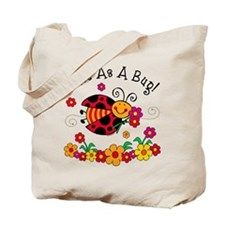 Ladybug Cute As A Bug Tote Bag