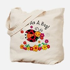Ladybug Cute As A Bug Tote Bag