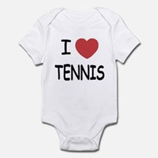 I heart tennis Infant Bodysuit