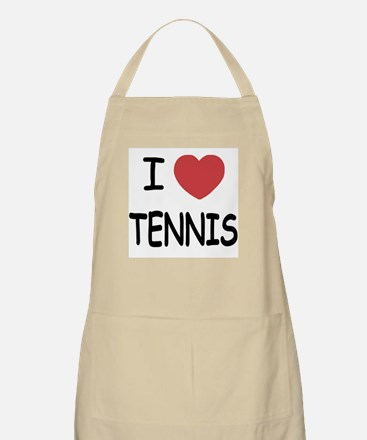 I heart tennis Apron