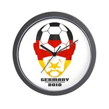 Cute Germany soccer 2010 Wall Clock