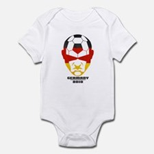Cute Germany soccer 2010 Infant Bodysuit