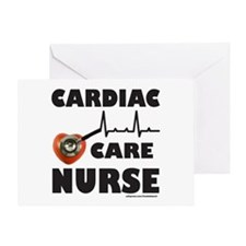 CARDIAC CARE NURSE Greeting Card