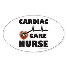 CARDIAC CARE NURSE Decal