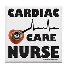 CARDIAC CARE NURSE Tile Coaster
