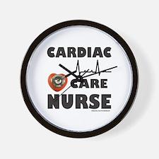 CARDIAC CARE NURSE Wall Clock