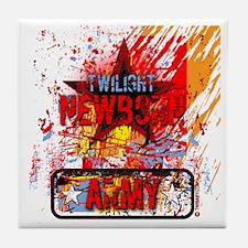 Newborn Army by Twibaby Tile Coaster