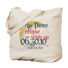 Twilight Eclipse I was There Tote Bag