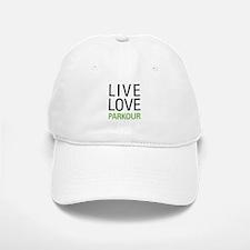Live Love Parkour Baseball Baseball Cap