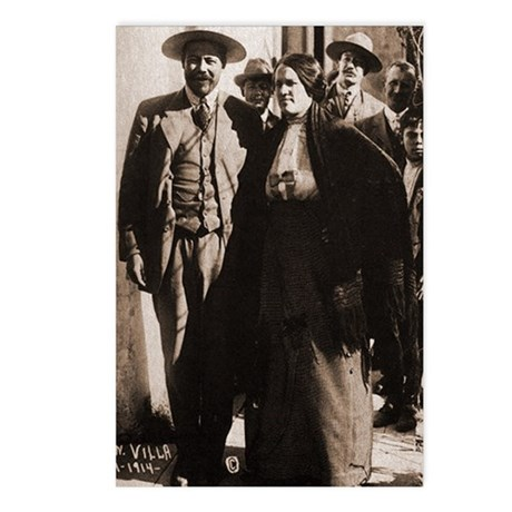 Pancho Villa Mexican Revolution Postcards (8/Pkg)