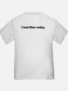 Oh my! Fiber! T