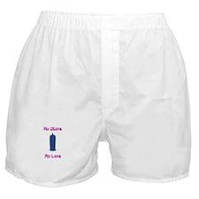 no glove no love Boxer Shorts