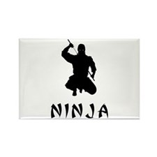 NINJA Rectangle Magnet
