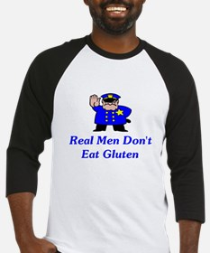 Real Men Don't Eat Gluten Baseball Jersey