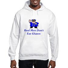 Real Men Don't Eat Gluten Hoodie