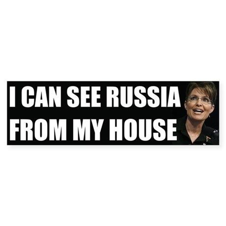 """Sarah Palin: """"I Can See Russia From My House&"""