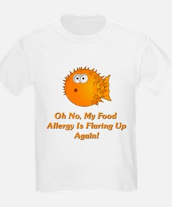 Oh No, My Food Allergy T-Shirt