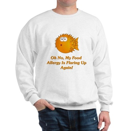 Oh No, My Food Allergy Sweatshirt