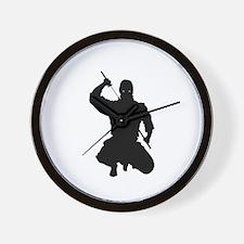 NINJA WARRIOR Wall Clock